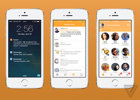 Foursquare's New Swarm iOS App Is Finally On The App Store | Oh The Places | Scoop.it
