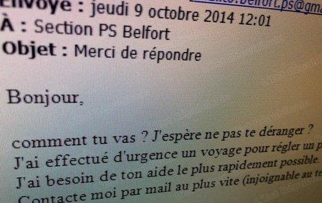 Internet La messagerie du PS Belfort piratée - Est Républicain   LPN   Scoop.it