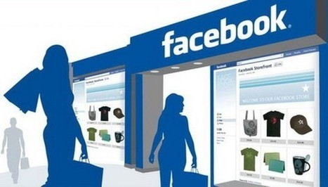 Facebook repart à l'offensive du e-commerce - Clubic | Digital Marketing Cyril Bladier | Scoop.it