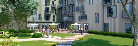 Résidence LMNP seniors - Le Patio Vaillant - Bordeaux (33000) | Investissement immobilier | Scoop.it