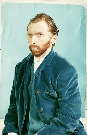 #089 ❘ Le portrait reconstituéde Vincent Van Gogh  ❘ 2013 ❘ Tadao Cern | # HISTOIRE DES ARTS - UN JOUR, UNE OEUVRE - 2013 | Scoop.it