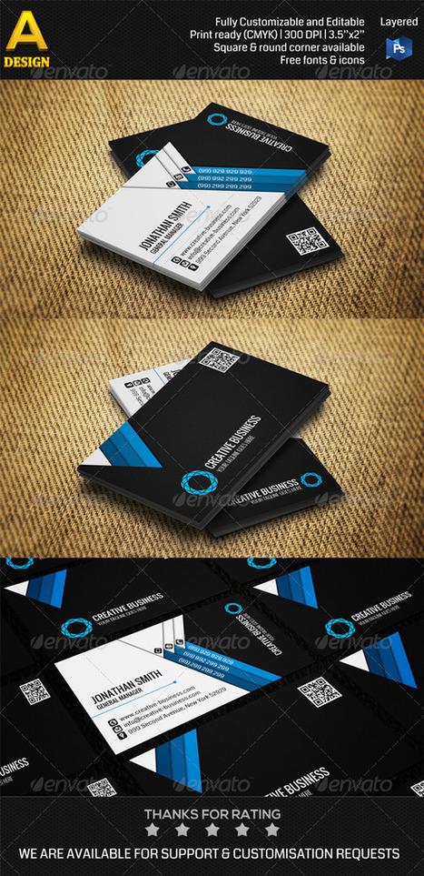 Corporate Business Card AN0291 (Corporate) | RK Download | dev | Scoop.it