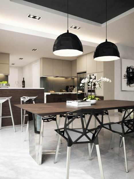 Inspirational Dining Room Designs | Interior design | Scoop.it