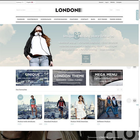 London Prestashop Theme | Prestashop Theme Download | Best Prestashop Themes | Scoop.it