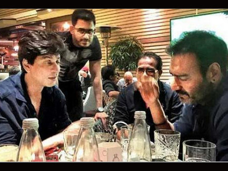 Ajay Devgn On Shahrukh Khan: We Are Not Good Friends | Bollywood Movies News | Scoop.it