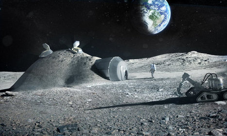 3D Printers Could Make Moon Base | News | Laboratory Equipment | Made Different | Scoop.it