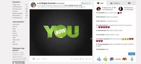 Après Snapchat voici YouNow | Gazette du numérique | Scoop.it