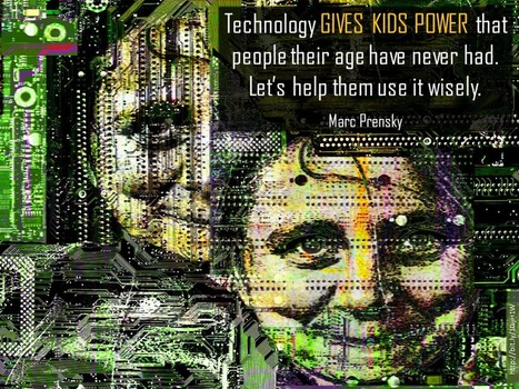Technology Gives Kids Power [SLIDE] | Education for All | Scoop.it