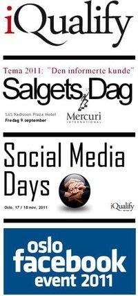 Social Media Days - 7.-8. februar 2012 - IQualify | Sosial Kalender | Scoop.it