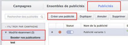 Comprendre la nouvelle structure des publicités Facebook - Social Media Pro | Communication | Scoop.it