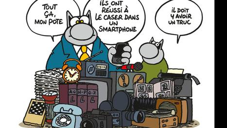 Geluck: «A 32ans, il était temps que Le Chat fasse des petits…» | Merveilles - Marvels | Scoop.it