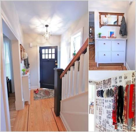 8 Amazing Ways to Beautify a Small Entryway | Amazing interior design | Scoop.it
