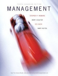 Test Bank For » Test Bank for Management, 10th Canadian Edition : Robbins Download | Management Test Bank | Scoop.it