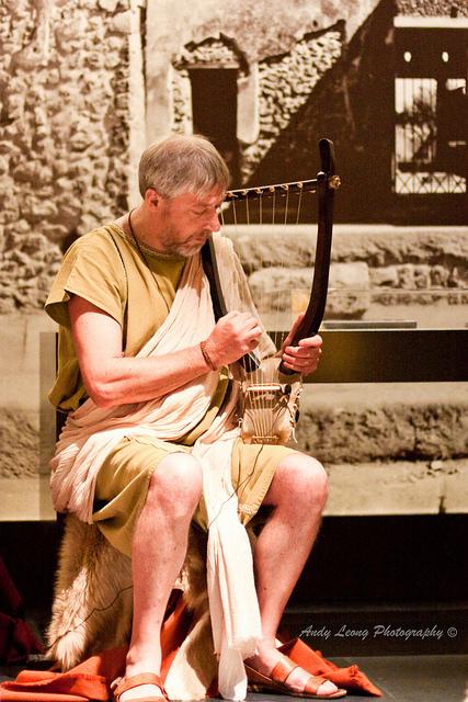 Music & Dance of Ancient Rome - Lyre   LA MUSICA Y LA GUERRA ROMANA EN SU ENTORNO   Scoop.it