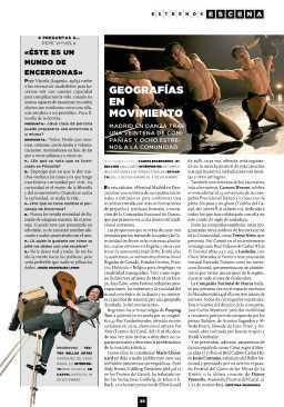 Metrópoli 2 de noviembre | Festival Internacional Madrid en Danza 2012 | Scoop.it