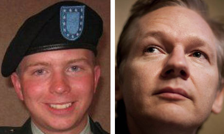 No link between Bradley Manning and Julian Assange, say military sources | Richard Adams | World news | guardian.co.uk | Coveting Freedom | Scoop.it