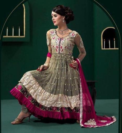 Pakistani & Indian Frocks 2013 For Women | fashion | Scoop.it