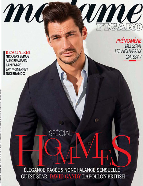 David Gandy for Madame Figaro France April 2013 | JIMIPARADISE! | Scoop.it