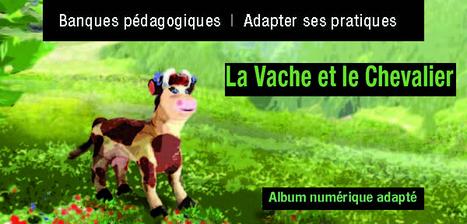 La vache et le chevalier - Album numérique adapté @reseau_canope | Teaching FRENCH | Scoop.it