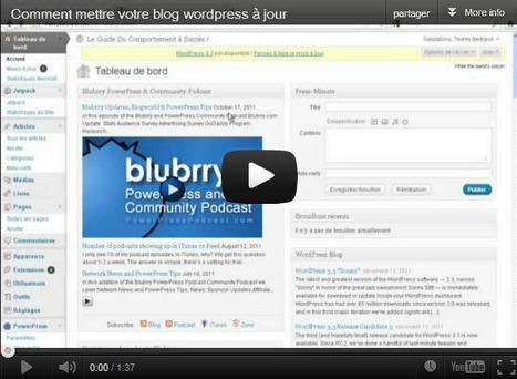 Formation Vidéo WordPress en français pour débutants (Tutoriel Gratuit)   Je, tu, il... nous !   Scoop.it