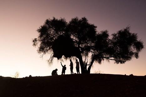 En images : sans destination précise, ils partent pendant 7 jours dans le désert | Instantanés | Scoop.it