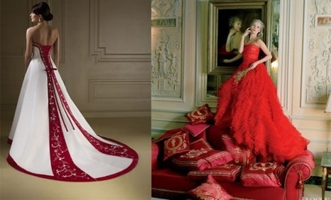 L'abito da sposa? Rosso carminio e in stile anni '20 - Sfilate | fashion and runway - sfilate e moda | Scoop.it