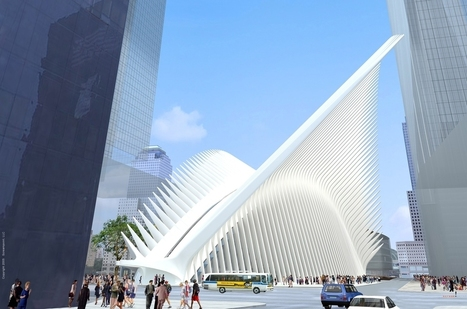 The curse of Calatrava: Ground Zero's PATH terminal set to be the most expensive train station in history | D_sign | Scoop.it