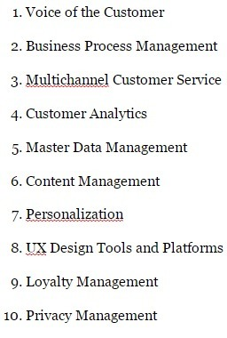Top 10 Technologies For Customer Experience - Forbes | CX - UX : User & Customer Experience | Scoop.it