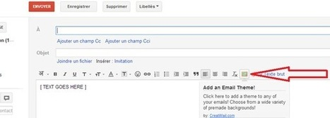 Une extension Chrome pour personnaliser le thème de vos mails | Time to Learn | Scoop.it