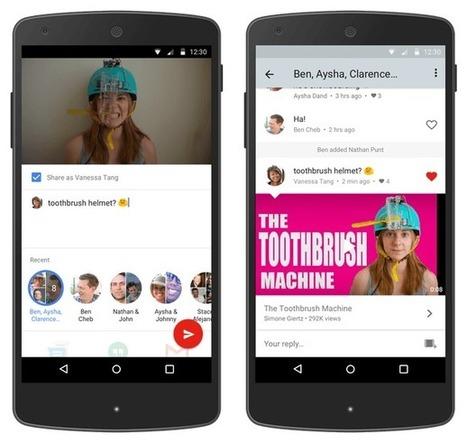 YouTube no quiere que salgas de su aplicación, añade más funciones sociales | Videos en la red | Scoop.it