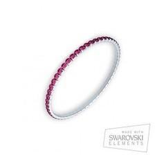 Pulsera Shine con cristales rosas Swarovski   VanCrystals   Joyas y accesorios   Scoop.it