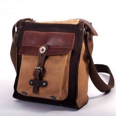 Fantastic waxed canvas and leather messenger bags unisex from Vintage rugged canvas bags | Collection of backpack | Scoop.it