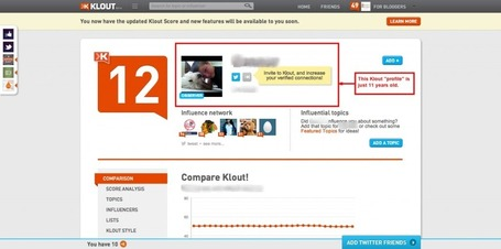 If @Klout is Fixed, Why Are They Profiling an 11-Year Old Kid? – Danny Brown | Klout or Clout | Scoop.it