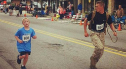 Photo Of U.S. Marine Helping Nine-Year-Old Finish 5K Run Goes Viral | This Gives Me Hope | Scoop.it
