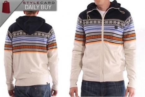 Men's Monday: Daily Buy – Bench Krypton Knit Zip Hoodie Navy   StyleCard Fashion Portal   StyleCard Fashion   Scoop.it