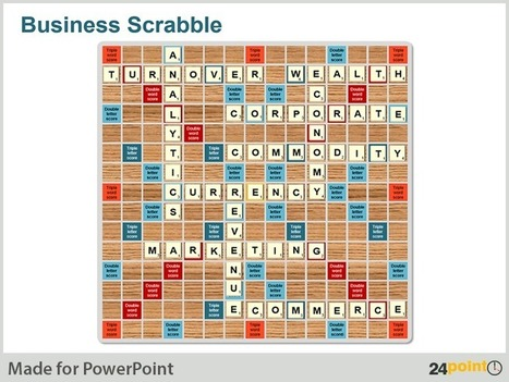 Business Scrabble - Mix Wordplay and Information in Your Business PPT Presentations | PowerPoint Presentation Tools and Resources | Scoop.it