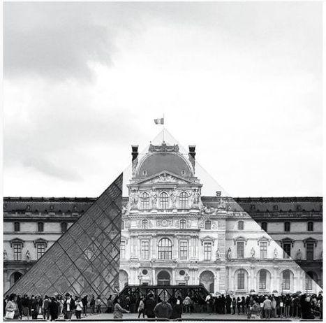 La pyramide du Louvre comme vous ne l'avez jamais vue ! | Arts et FLE | Scoop.it