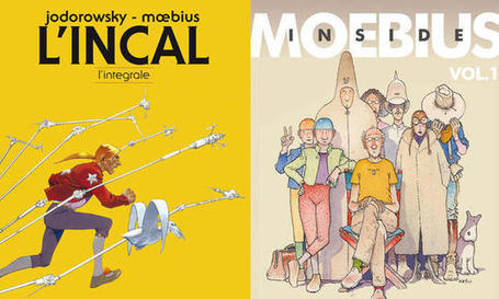 'L'Incal - L'integrale' e 'Inside Moebius': due fumetti per capire il genio di Moebius | DailyComics | Scoop.it