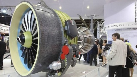 Jet engine makers get lift from 3-D printing technology - CNN International   CLOVER ENTERPRISES ''THE ENTERTAINMENT OF CHOICE''   Scoop.it