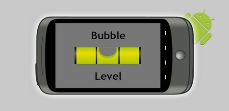 Bubble level - Apps on Android Market | Apps and Widgets for any use, mostly for education and FREE | Scoop.it