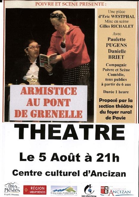 Théâtre à Ancizan le 5 août | Vallée d'Aure - Pyrénées | Scoop.it