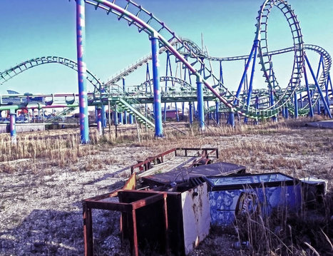 Creepy, Crusty, Crumbling: Illegal Tour of Abandoned Six Flags New Orleans [75 Pics] | The audience left 20 years ago | Scoop.it