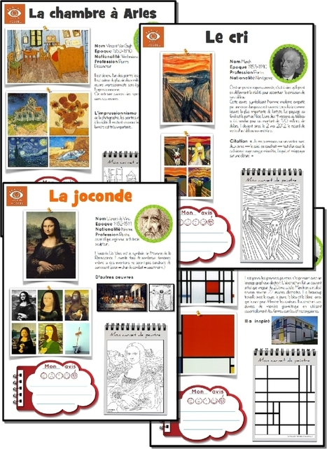 [Histoire de l'art] L'oeuvre d'art de la semaine | French Immersion ideas | Scoop.it