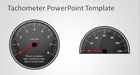 Free Tachometer PowerPoint Template | wantus intro | Scoop.it