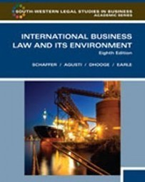 Test Bank For » Test Bank for International Business Law and Its Environment, 8th Edition: Schaffer Download | science | Scoop.it