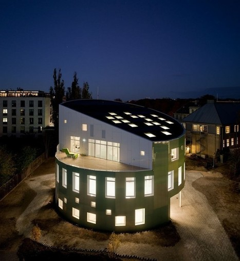 Green Lighthouse, Copenhagen: Denmark's First Public Carbon-Neutral Building | design | Scoop.it