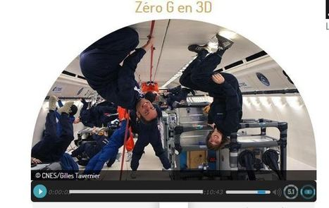 ZÉRO-G : un vol sans gravité, un webdoc en 3D sonore de Vincent Ravalec   Cabinet de curiosités numériques   Scoop.it