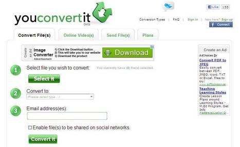 Online Media Converter - convert Files, images, audio, video, archives | 5th Grade | Scoop.it
