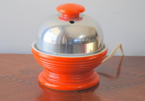 Hankscraft Electric Egg Cooker Orange by AntiqueLane on Etsy | Antiques & Vintage Collectibles | Scoop.it