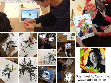 Transforming Art Lessons with iPad - September 2015 Guest Blog Post by Cathy Hunt | iPad Teachers Blog | Scoop.it